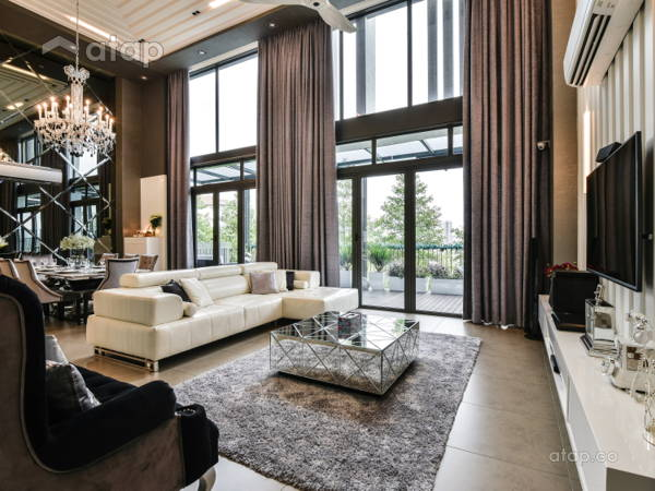 Contemporary Modern Living Room@< Magnificent Manor > The Mansion @ Desa Park City