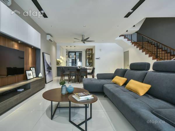 Contemporary Modern Dining Room Living Room@Seri Jalil Residence