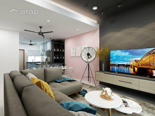Contemporary Modern Living Room@Seksyen 32, Shah Alam