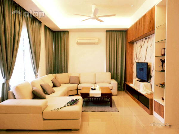Modern Living Room@Modern Tropica Homes