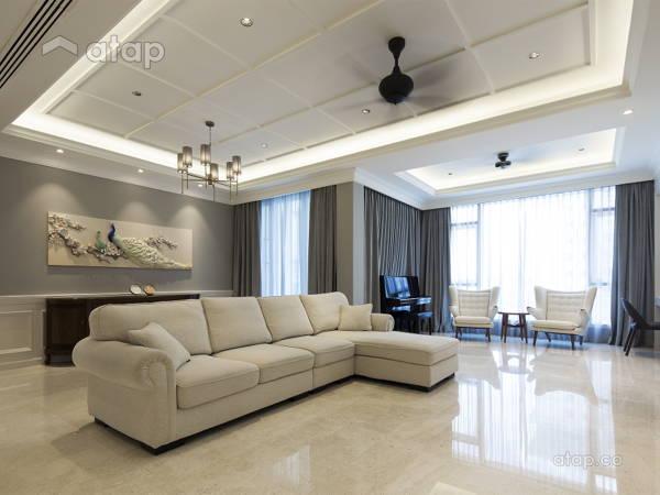 Classic Modern Living Room@Kiara 9, Mont Kiara