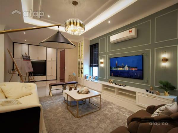 Classic Modern Foyer Living Room@Setia Alam Sari Type B