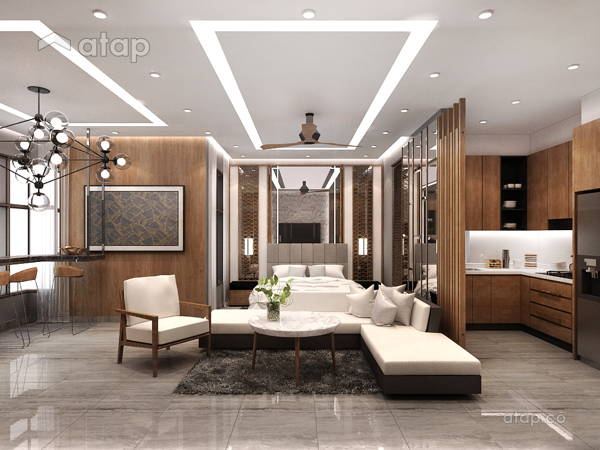 Contemporary Modern Dining Room Living Room@Luxury Studio House @ 8 Kinrara