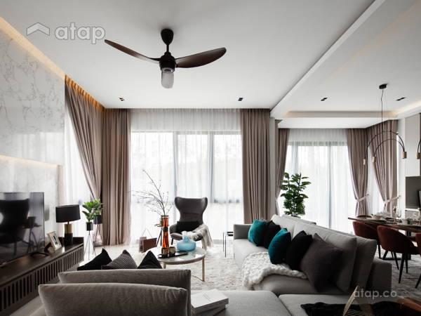 Classic Modern Dining Room Living Room@Jadehills Blossom Terrace