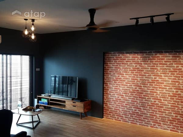 Industrial Minimalistic Living Room@Kelana Mahkota