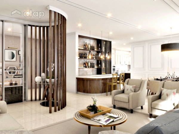 Classic Modern Living Room@Hacienda @ Setia Eco Park
