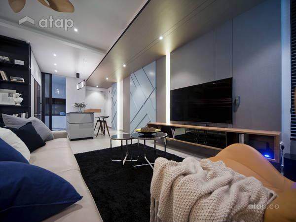 Contemporary Modern Living Room@The Vyne 18