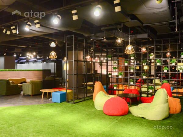 Malaysia Green Rustic Office Architectural Interior Design Ideas