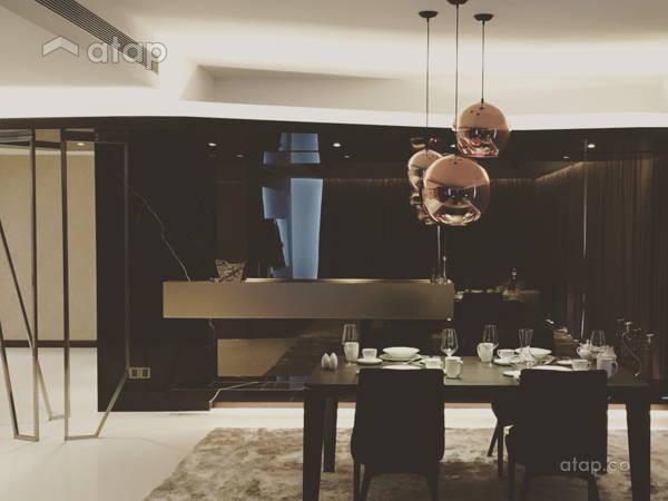 Contemporary Modern Dining Room@Northshore