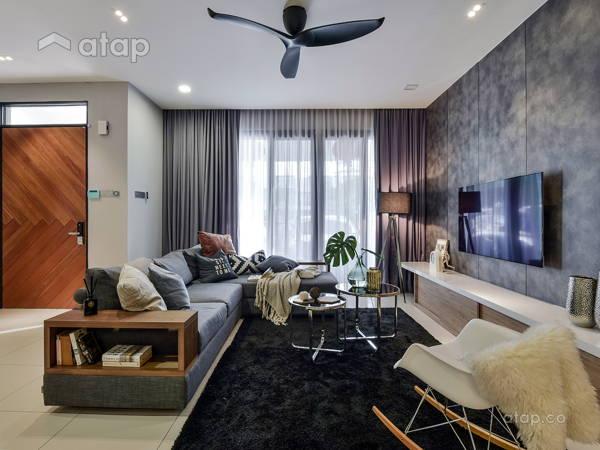 Contemporary Scandinavian Living Room@Acacia 7