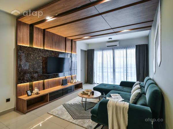Contemporary Living Room@Menara Simfoni