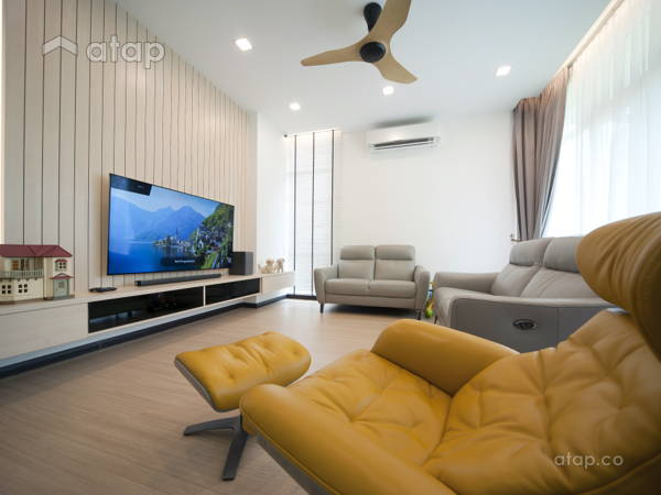 Contemporary Modern Living Room@Setia Eco Park