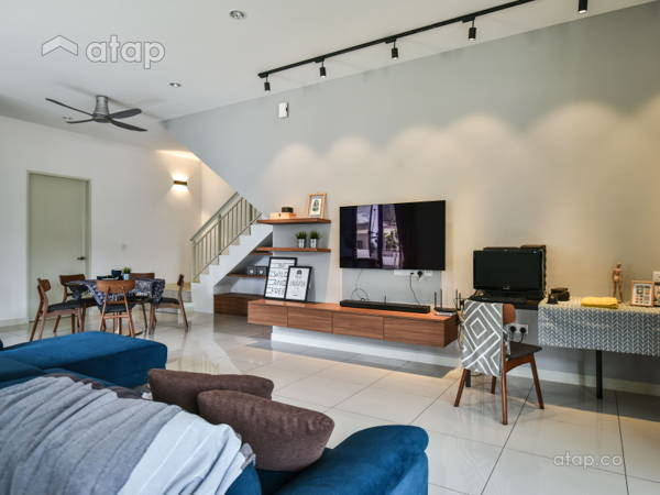 Contemporary Minimalistic Living Room@N'Dira, Puchong South