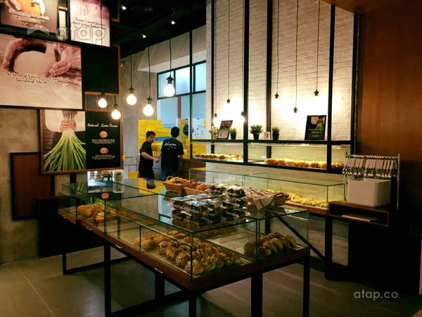 Rustic Vintage F&B Retail@Hogan Bakery at IOI City Mall