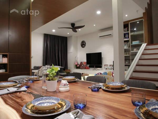 Modern Vintage Dining Room@Terrace House - Kepong Baru