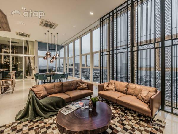 Asian Modern Living Room@Opulent 30