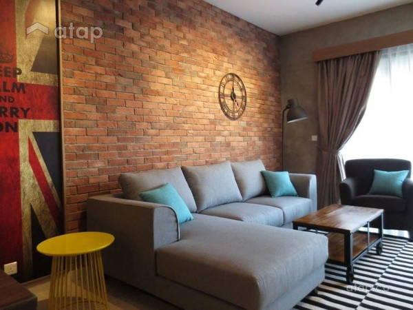 Industrial Living Room@G Residence, Desa Pandan