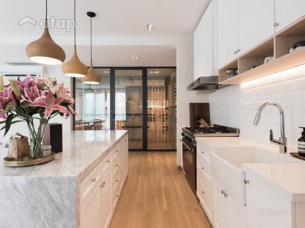 Contemporary Scandinavian Dining Room Kitchen@Scandinavian Bungalow   When Simplicity Matters