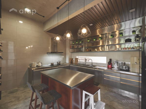 Industrial Modern Kitchen@Foreston Bukit Puchong