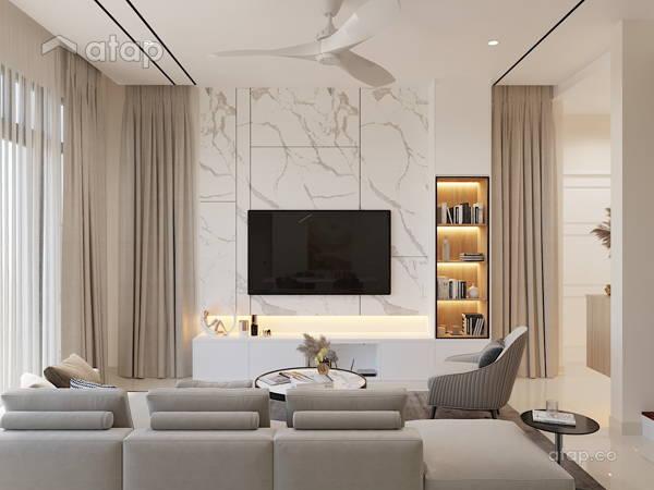 Contemporary Modern Living Room@Eco Majestic