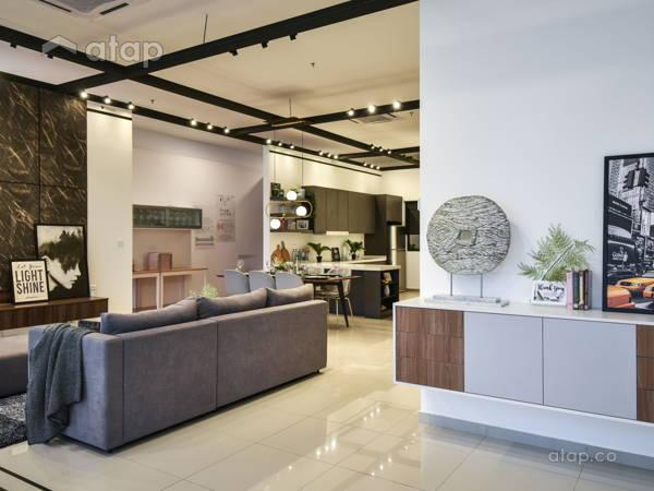 Contemporary Modern Foyer@Carnus Show Unit, Setia Eco Hill