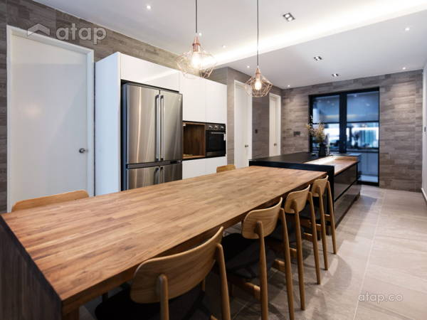 Contemporary Modern Kitchen@Mr Lee's House @ Ambang Botanic 2, Klang