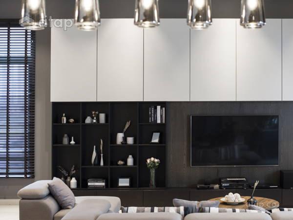 Contemporary Modern Dining Room Living Room@D' Island Corallia