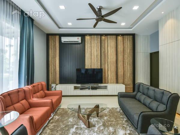Scandinavian Living Room@Interior Renovation Project