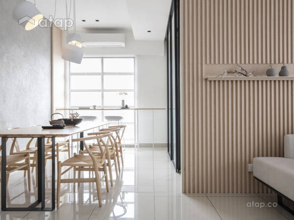 Minimalistic Modern Dining Room Living Room@''Life of ZEN - Townhouse