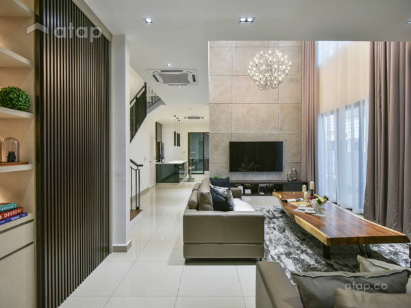Contemporary Modern Living Room@Setia Alam