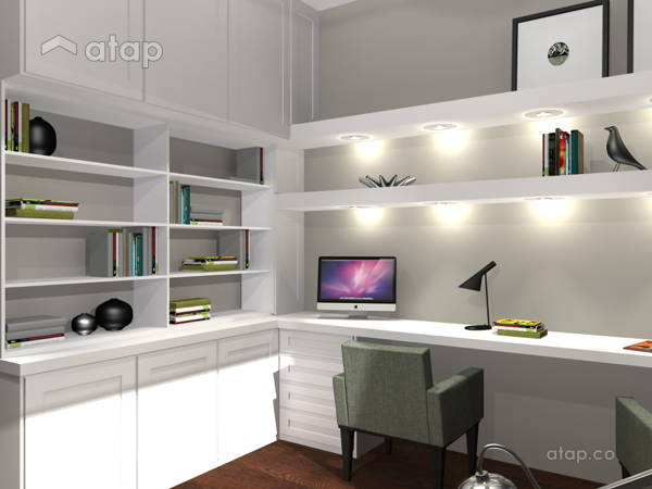 Malaysia Retro Study Room architectural & interior design ...
