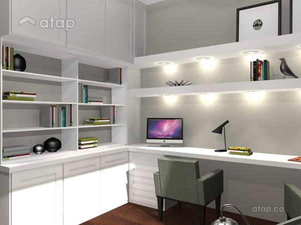 Malaysia Retro Study Room architectural & interior design ideas in ...
