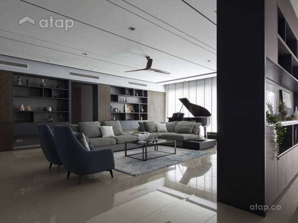 Contemporary Modern Dining Room Living Room@Pavilion Hilltop