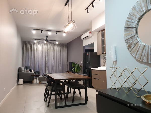 Contemporary Modern Dining Room Living Room@Seventeen @Seksyen 17
