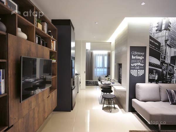 Minimalistic Modern Living Room@HighPark Studio A1