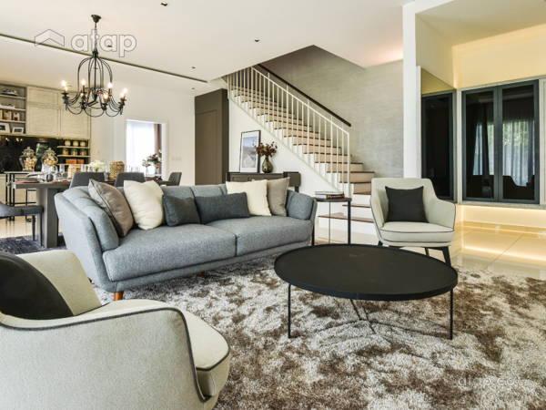 Classic Contemporary Living Room@Gamuda Garden 2B