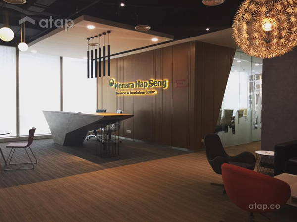 Contemporary Modern Foyer Office@Hap Seng Business & Incubation Centre