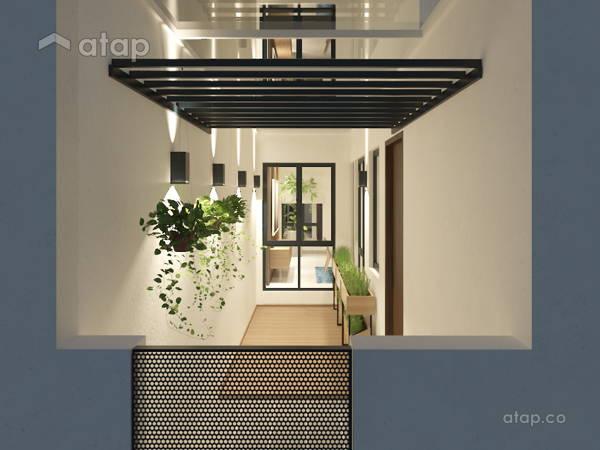 Malaysia Modern Balcony Architectural Interior Design