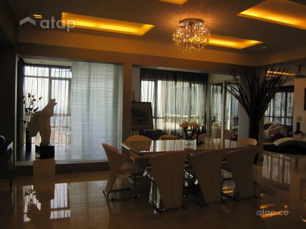 Modern Dining Room@Condominium @ Kiara Ville, Mont Kiara KL