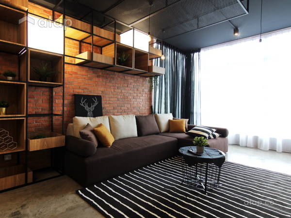 Malaysia Industrial Living Room Architectural U0026 Interior ...