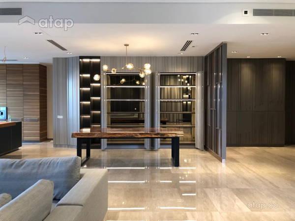 Minimalistic Modern Dining Room Living Room@Serai Bangsar