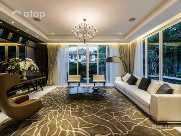 Contemporary Modern Living Room@Mutiara House