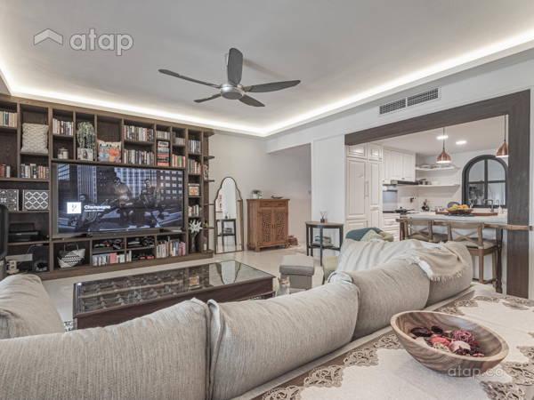 Contemporary Living Room@Seri Duta II, Jalan Langgak Duta, KL