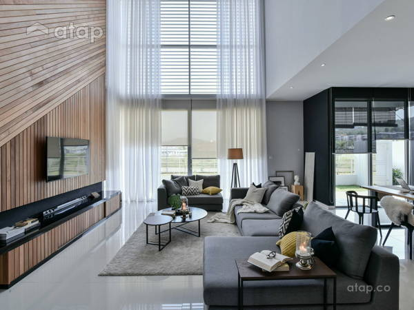 Contemporary Modern Living Room@Wil's 11
