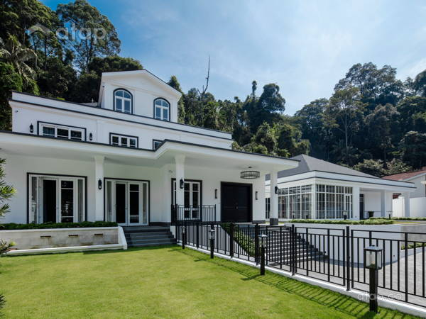 Classic Modern Exterior Garden@The White Mansion, Ampang Jaya