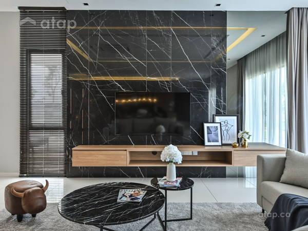 Contemporary Modern Living Room@ERVINA ARA SENDAYAN
