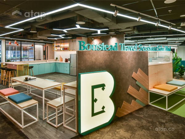 Contemporary Office@Boustead Travel Services