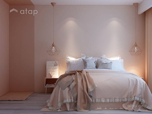 Modern Scandinavian Bedroom@Goflex Signature - Nude Collection Interior