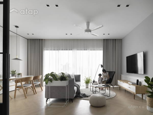 Scandinavian Living Room@SCANDI TRENDY  - Condominium, KL