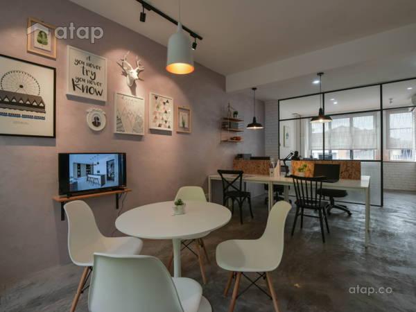 Modern Scandinavian Office@Matt Interior Design Office